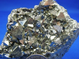 PYRITE CRYSTALS #P5