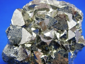 PYRITE CRYSTALS #P8