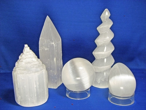 SELENITE GROUP OF 5