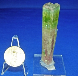 TOURMALINE BI-COLOR CRYSTALS #11A