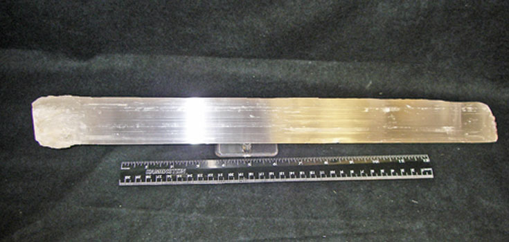 large selenite wand strictly minerals