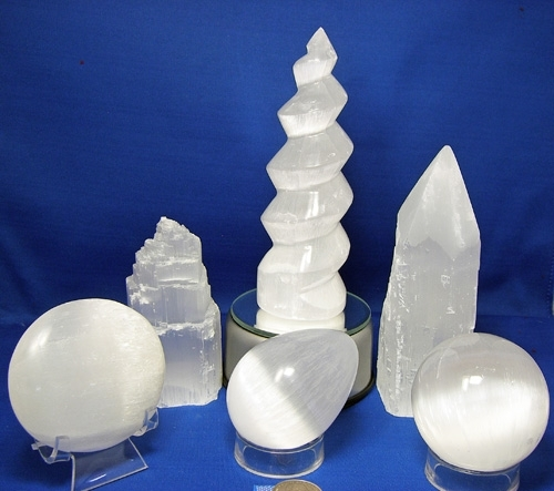 SELENITE GROUP OF 6