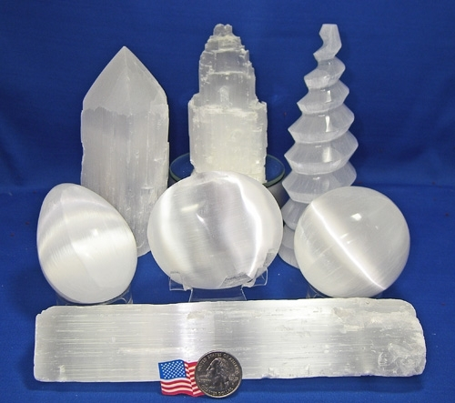 SELENITE GROUP OF 7