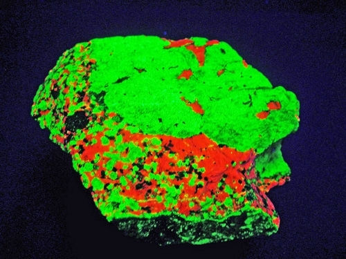 FRANKLIN FLUORESCENCE ROCK #F102