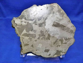 Northwest Africa 849 Etched Meteorite Slice