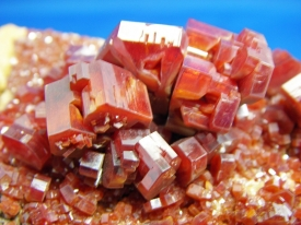 VANADINITE CRYSTALS #8
