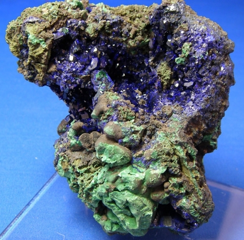 AZURITE COPPER CRYSTALS #3