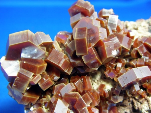VANADINITE CRYSTALS NF22