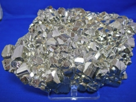 PYRITE CRYSTAL CLUSTER #6